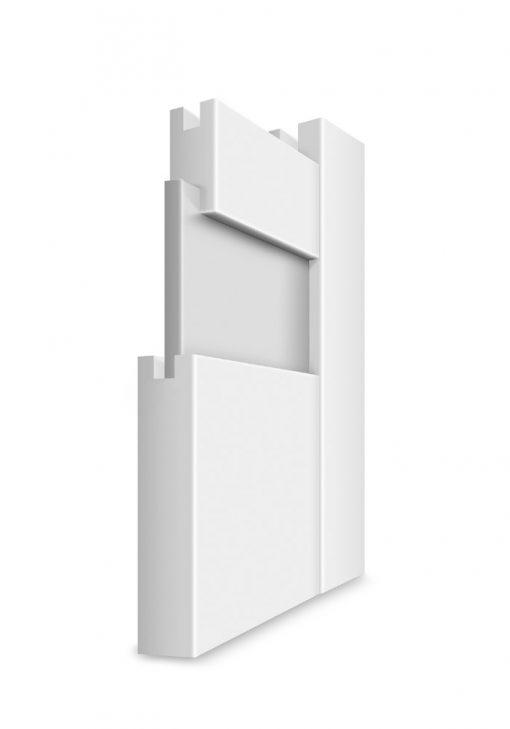 Konštrukcia rámové dvere