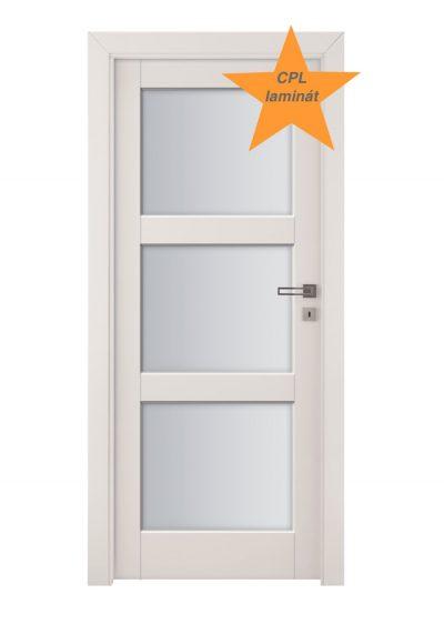 Invado dvere Bianco laminat