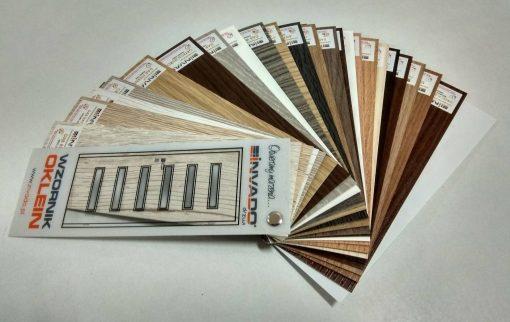Invado vzorkovník farieb povrchu