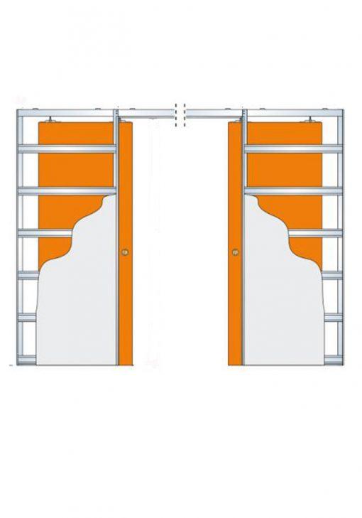 Invado stavebné puzdro dvojkridlov