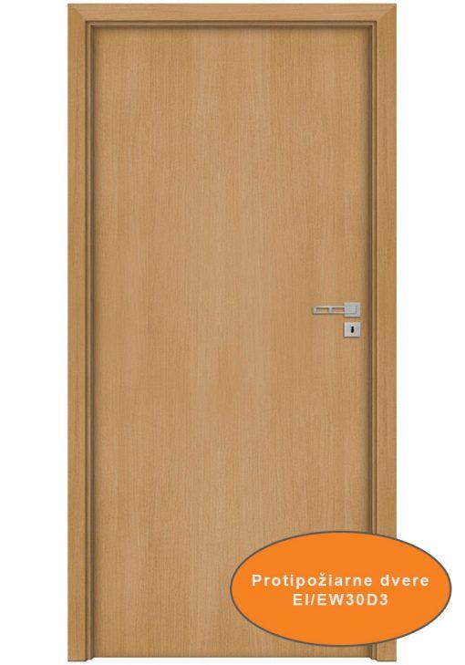 Protipožiarne dvere Ignis Eco fornir povrch